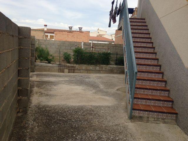Stairs to court yard